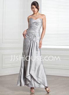 Evening Dresses - $129.99 - Sheath Sweetheart Floor-Length Taffeta Evening Dresses With Ruffle  Beading (017005318) http://jjshouse.com/Sheath-Sweetheart-Floor-length-Taffeta-Evening-Dresses-With-Ruffle-Beading-017005318-g5318