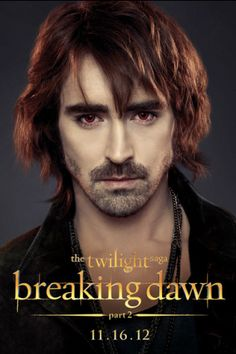 Garrett | Breaking Dawn 2| Lee Pace <3