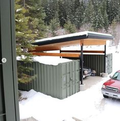 Hervorragend CASCADIA CONTAINER RESIDENCE