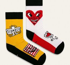 Medicine – Sosete by Keith Haring (2-pack)