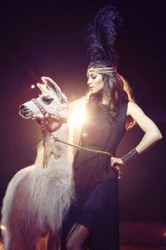 Luminous Circus Editorials - The ELLE Bulgaria April 2013 Photoshoot Stars Valentina Dimitrova (GALLERY)