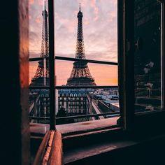 @wonguy974 #lorealparis #paris #sunset