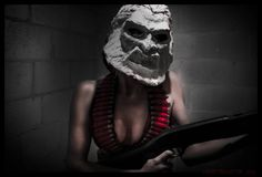 my Zardoz Cosplay got posted by Geek Girls today! wee!