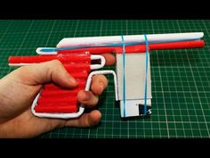 Mauser Pistol - Paper Gun Shoots 5 Bullets - YouTube