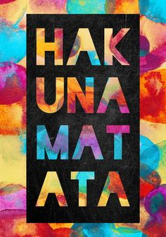 """Have you ever wondered if you lived by Hakuna Matata like Timon and Pumbaa from Disney's """"Lion King""""?"""