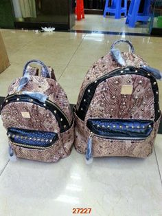 New style MCM backpack