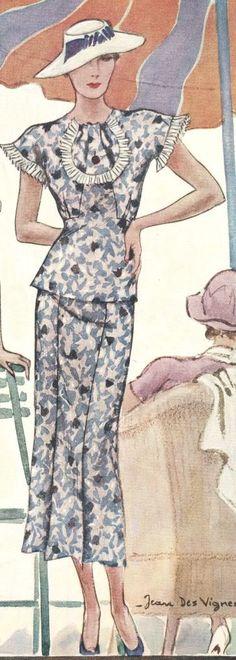 McCall's magazine, June 1934 featuring McCall 7836