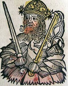 Nuremberg chronicles - Atilla, King of the Huns (CXXXVII) - Attila - Wikipedia, the free encyclopedia Dante Alighieri, European History, Ancient History, Attila The Hun, The Ancient One, Christian Religions, Dark Ages, Historian, Printmaking