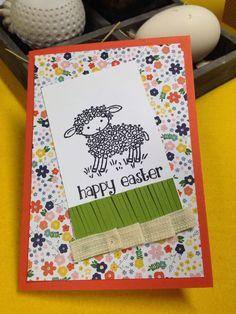 Easter Lamb von Stampin Up