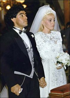 Soccer legend Diego Maradona and Claudia Villafane at their wedding in Buenos Aires in November Wedding Couples, Wedding Photos, Diego Armando, Mexico Soccer, Everton Fc, Soccer Stars, Times Of India, Fifa World Cup, Celebs