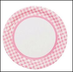 9 inch Light Pink Polka Dots Dinner Plates 8-Count | Walmart and Products  sc 1 st  Pinterest & 9 inch Light Pink Polka Dots Dinner Plates 8-Count | Walmart and ...
