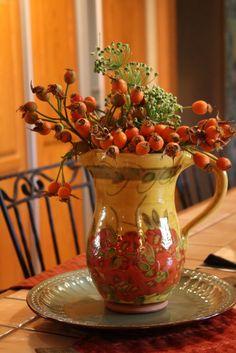 Image detail for -Autumn Flower Arrangement
