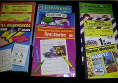 8 Teaching Books Teacher Lot Home School Grade 1 Science Literature Emergent