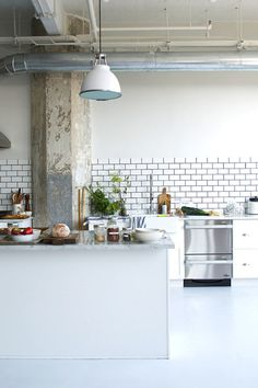 How To Create a Bright and Airy Industrial Home