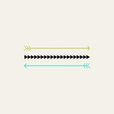 Light Green & Blue arrows Art Print