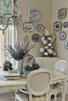 27 Awesome French Country Dining Room Decor Ideas
