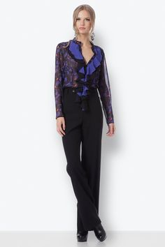 Black Pants, Suits, Style, Fashion, Black Trousers, Outfits, Moda, La Mode, Fasion