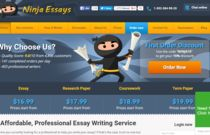 Learn more about NinjaEssays writing service. Are they fraud? What their customers say? http://essayguard.com/services/ninjaessays