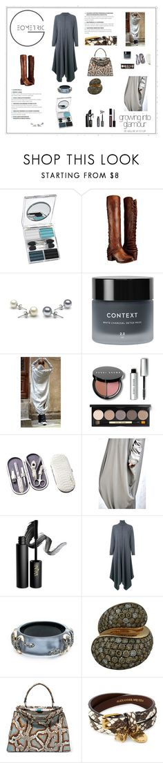 """""""Temptation: knit dress and vest"""" by onenakedewe ❤ liked on Polyvore featuring Couture Colour, Napoleon Perdis, Steven by Steve Madden, Context, Bobbi Brown Cosmetics, INIKA, STELLA McCARTNEY, Alexis Bittar, de Grisogono and Fendi"""