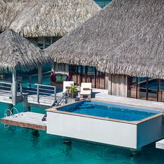 Brides.com: Top 10 Resorts in Fiji and French Polynesia. 2. St. Regis Bora Bora Resort, French Polynesia    This escape is honeymoon central for Hollywood types. (Among the newlyweds who've done their first post-wedding trip here: Nicole Kidman and Keith Urban; Nikki Sixx and Courtney Bingham; Alyssa Milano and David Bugliari.) No wonder they're drawn here—the thatched-roof overwater villas are house-sized (the smallest is 1,550 square feet) with outdoor showers on a terrace that hovers ...