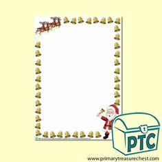 FREE Christmas Eve Jingle Printables - Worldwide Christmas Eve Jingle - Primary Treasure Chest Christmas Themes, Christmas Eve, Page Borders, Treasure Chest, Printables, Activities, Writing, Frame, Ideas
