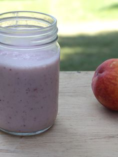 Dairy-Free Strawberry Peach Smoothie is delicious healthy recipe. #SundaySupper