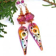 Fun & funky spike #earrings for the #boho in you!... http://ift.tt/2rA3psI