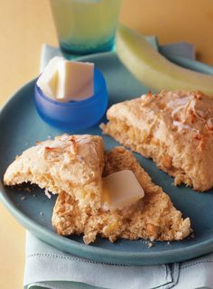 Paradise in every bite: Warm scones filled with fresh coconut, crushed pineapple and chopped macadamia nuts.