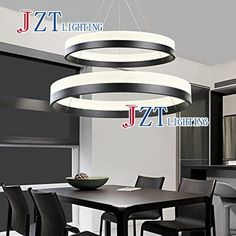 183.87$  Watch now - http://aliyqe.worldwells.pw/go.php?t=1000001701037 - M Modern LED Chandelier Acrylic Pendant Lamp Living room Dining room Hanging Light Home Decoration Lighting Fixture 183.87$