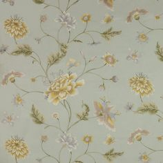 Colefax And Fowler's Colbert Silk #colefaxandfowler #floral #textile #fabric  #interiors #design @cowtanandtout