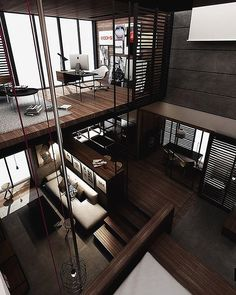 Best Ideas For Modern House Design & Architecture : – Picture : – Description Loft Design by the Urbanist Lab Style At Home, Modern Interior Design, Interior Design Inspiration, Fashion Inspiration, Architecture Design, Green Architecture, Compact House, Compact Living, Loft Interiors