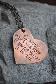 Alice In Wonderland Quote Necklace by SayitNaturally on Etsy