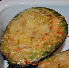 my kaotic kitchen: cheesy baked avocado