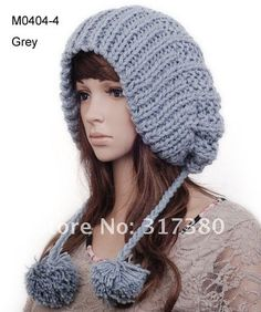 Ladies Fashion Hat Knitted Women Cap Crochet Designer Skull Caps Knit Berets Winter Hats Knitting Hat Beanie Wholesale 30 Style-in Berets fr...