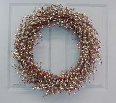 Americana Wreath  Rustic Door Decor  Americana by Designawreath, $79.95