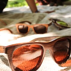 Papakarahi - Coromandel Sunglasses, Products, Fashion, Dark Brown, Ladies Accessories, Bamboo, Sun, Eyeglasses, Get Tan