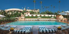 The Beverly Hills Hotel Pool