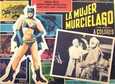 Bat Woman! (mexican bat-woman missing her bat-suit)