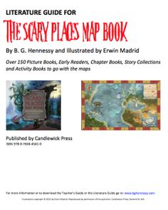 Literature Guide to THE SCARY PLACES MAP BOOK. Over 150 picture books, chapter books, early readers and activity books keyed to the seven maps in the book. A teacher/librarian's dream! Book Activities, Activity Books, Teacher Librarian, Scary Places, Early Readers, Parents As Teachers, Chapter Books, Play To Learn, Kids Reading