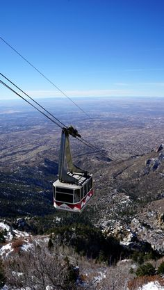 Sandia Peak Tramway in Albuquerque, New Mexico - The Longest Tramway in the World