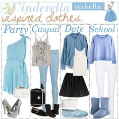 Cinderella inspired outfits.