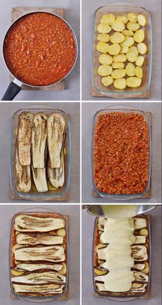 Vegan moussaka with lentils and eggplant! This popular Greek dish can be easily … Vegan moussaka with lentils and eggplant! Easy Healthy Recipes, Veggie Recipes, Vegetarian Recipes, Easy Meals, Cooking Recipes, Vegan Eggplant Recipes, Lentil Recipes, Moussaka Recipe Vegetarian, Healthy Desserts
