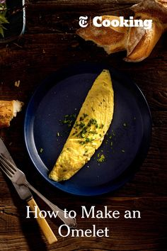 The omelet is the egg taken to its very highest form. With nothing more than salt and the tiniest amount of butter added, the omelet celebrates the richness of eggs without distracting from their delicacy. (Photo: Francesco Tonelli for NYT) Cooking Nytimes, Cooking Tips, Cooking Games, Cooking Classes, Cooking Recipes, Egg Recipes, Brunch Recipes, Dinner Recipes, Breakfast Dishes