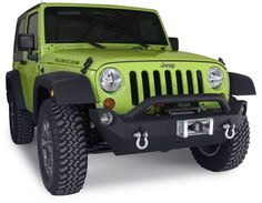 OR-FAB Front Mid Width Offset Winch Bumper with Hoop