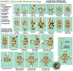 Diavma's Handcrafted Chainmaille Jewellery: Chainmaille Tutorials
