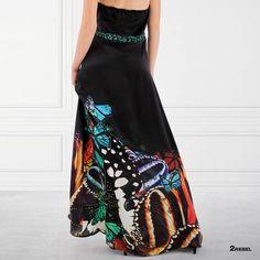Dress BUTTERFLY handmade of soft Italian satin silk Fabric designed by Studio handmade from beginning to end by one tailor Butterfly Dress, Silk Fabric, Silk Satin, Dress Making, Tie Dye Skirt, Fabric Design, Blazer, Summer Dresses, Studio