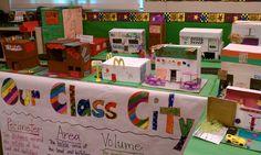 fifth grade classroom    Classroom City (mathematics/5th grade)