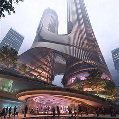 68 Ideas De Los Mejores Rascacielos Del Mundo En 2021 Rascacielos Arquitectura Estudio De Arquitectura