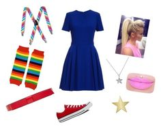"""""""DiY Rainbow Brite Costume"""" by amaliare on Polyvore featuring Alexander McQueen, Marni, Converse, Belcho and Target"""