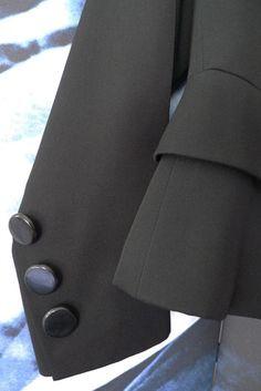 Vintage Yves Saint Laurent tuxedo jacket Tuxedo Jacket a91c46f26a7c8